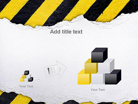 Under Construction Themed PowerPoint Template Slide 13