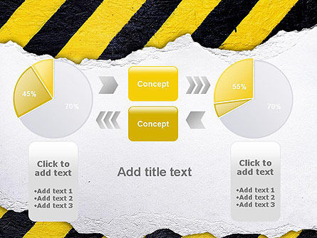 Under Construction Themed PowerPoint Template Slide 16