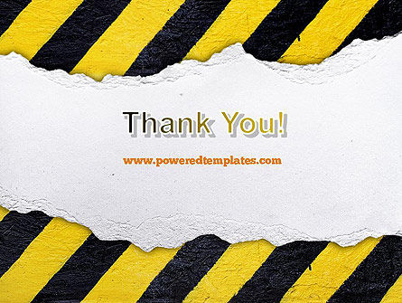 Under Construction Themed PowerPoint Template Slide 20