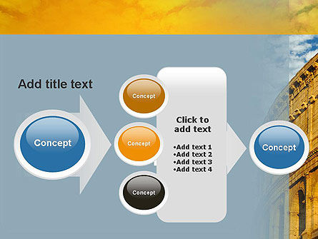 The Colosseum PowerPoint Template Slide 17