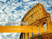 The Colosseum PowerPoint Template#20