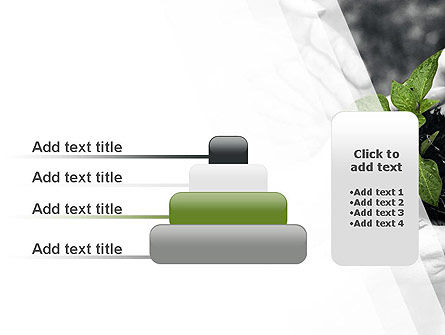 Sprout In Careful Hands PowerPoint Template Slide 8