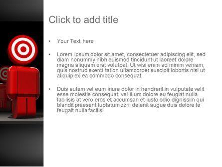 Consumer Target PowerPoint Template, Slide 3, 11341, Careers/Industry — PoweredTemplate.com