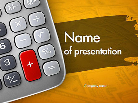 Financial/Accounting: Personal Finance PowerPoint Template #11342
