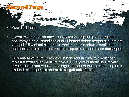 Paint Stains Background PowerPoint Template Slide 2