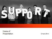 Careers/Industry: Plantilla de PowerPoint - grupos de apoyo #11345