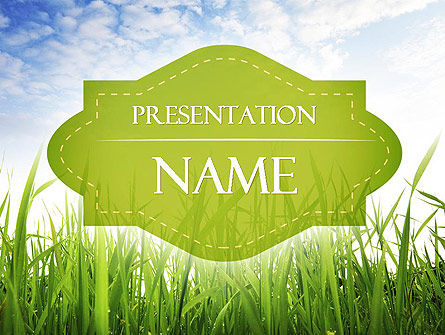 Nature & Environment: Nature PowerPoint Template #11348