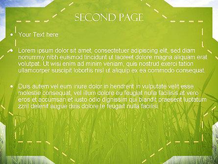 Nature PowerPoint Template, Slide 2, 11348, Nature & Environment — PoweredTemplate.com
