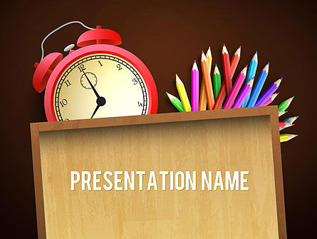 Primary School Theme PowerPoint Template