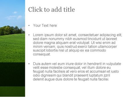 Organic Products Company PowerPoint Template, Slide 3, 11351, Agriculture — PoweredTemplate.com