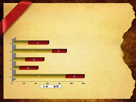 Paper with Red Ribbon PowerPoint Template Slide 11