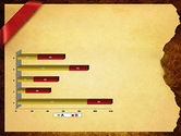 Paper with Red Ribbon PowerPoint Template#11