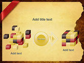 Paper with Red Ribbon PowerPoint Template#17