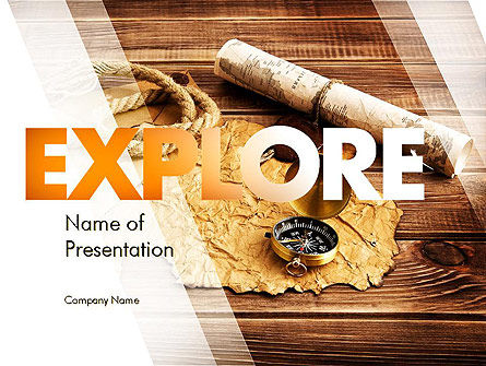 Careers/Industry: Explorer Thema PowerPoint Template #11355