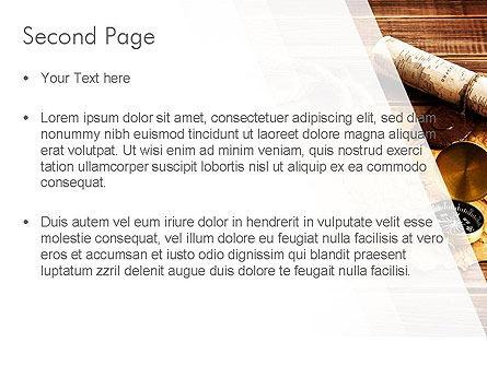 Explorer Theme PowerPoint Template, Slide 2, 11355, Careers/Industry — PoweredTemplate.com