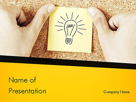Idea Notes PowerPoint Template