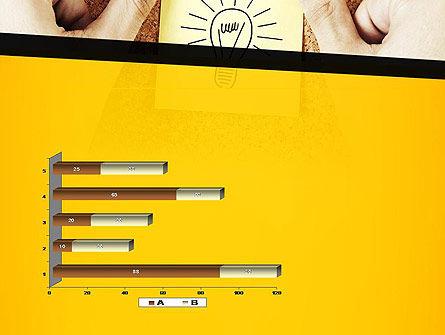 Idea Notes PowerPoint Template Slide 11