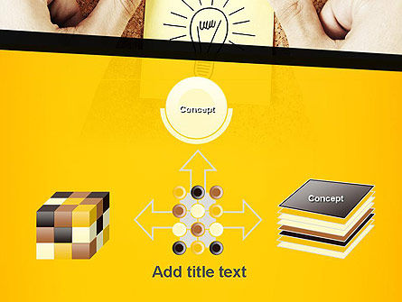 Idea Notes PowerPoint Template Slide 19