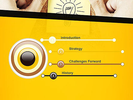 Idea Notes PowerPoint Template, Slide 3, 11356, Business Concepts — PoweredTemplate.com