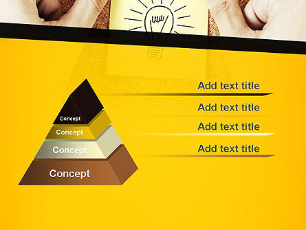 Idea Notes PowerPoint Template, Slide 4, 11356, Business Concepts — PoweredTemplate.com