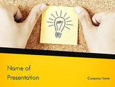 Business Concepts: Idea Notes PowerPoint Template #11356