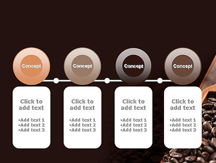 Roasted Coffee Beans PowerPoint Template Slide 5