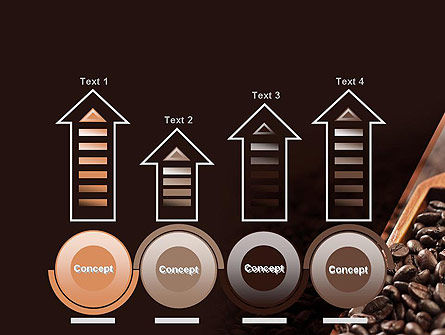 Roasted Coffee Beans PowerPoint Template Slide 7