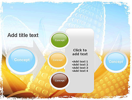 Maize Theme PowerPoint Template Slide 17