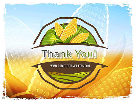 Maize Theme PowerPoint Template Slide 20