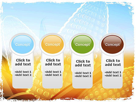 Maize Theme PowerPoint Template Slide 5