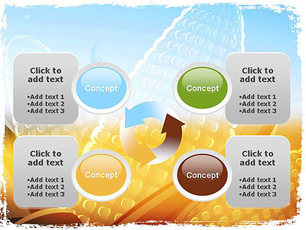 Maize Theme PowerPoint Template Slide 9