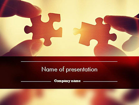 Socially Empowered Business PowerPoint Template