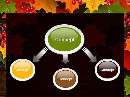 Fall Theme PowerPoint Template, Slide 4, 11360, Nature & Environment — PoweredTemplate.com