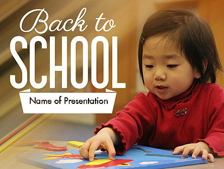 Child Care PowerPoint Template, 11362, Education & Training — PoweredTemplate.com