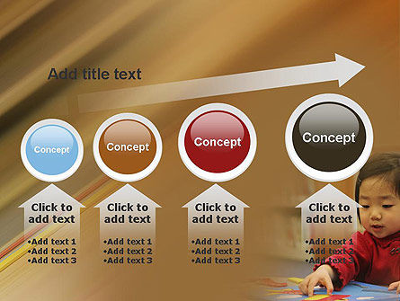 Child Care PowerPoint Template Slide 13