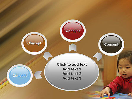 Child Care PowerPoint Template Slide 7