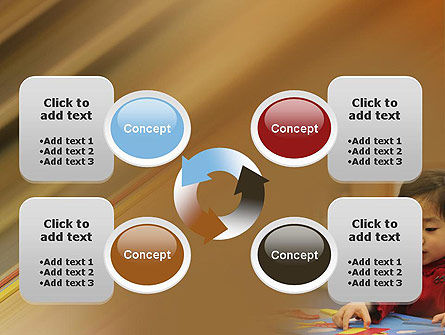 Child Care PowerPoint Template Slide 9