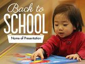 Education & Training: Modelo do PowerPoint - cuidado de crianças #11362