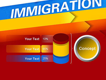 Immigration PowerPoint Template Slide 11