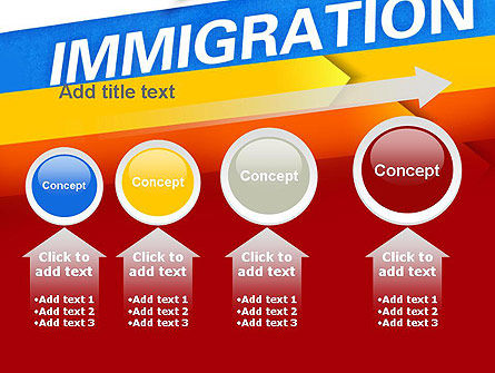 Immigration PowerPoint Template Slide 13