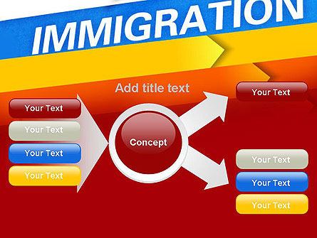 Immigration PowerPoint Template Slide 14