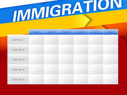 Immigration PowerPoint Template Slide 15