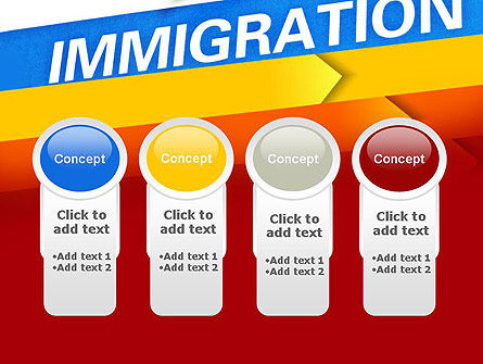 Immigration PowerPoint Template Slide 5