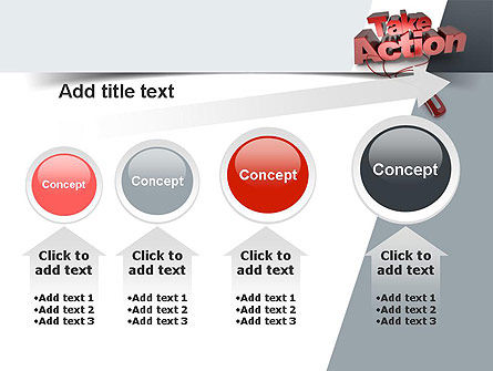 Take Action PowerPoint Template Slide 13