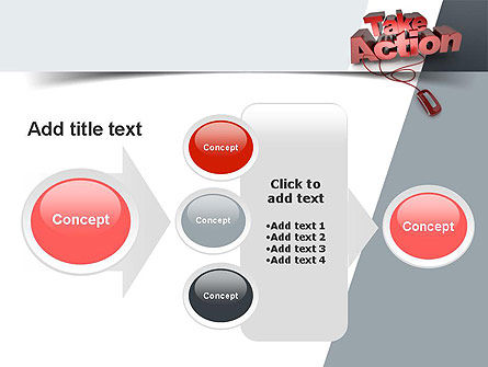 Take Action PowerPoint Template Slide 17