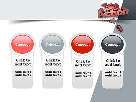 Take Action PowerPoint Template Slide 5