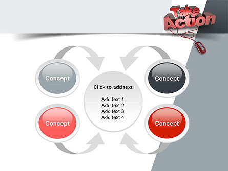 Take Action PowerPoint Template Slide 6