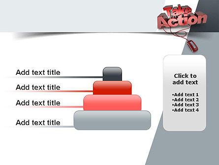 Take Action PowerPoint Template Slide 8
