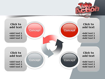 Take Action PowerPoint Template Slide 9