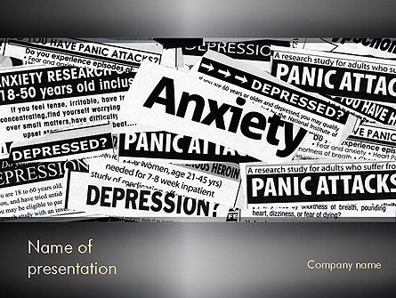 Mental Health PowerPoint Template, 11367, Medical — PoweredTemplate.com